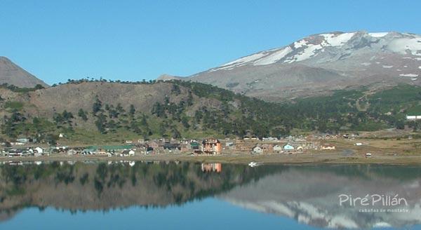 Lago Caviahue / Vista desde camino a Copahue